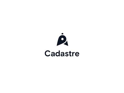 Cadastre illustration branding simple logo cadastre logo animation animation pin brand identity brand design logo geo gis