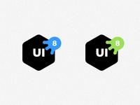 UI8 Halloween logo