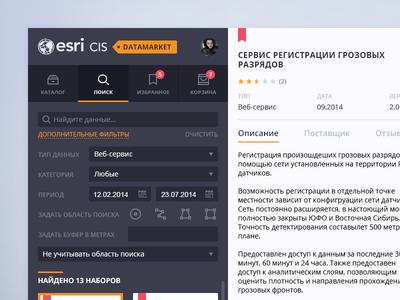 ESRI CIS Datamarket v1.5
