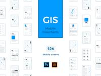 GIS Mobile Flowcharts