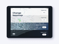 PlainGIS mobile : Basemaps change process 2