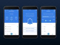 YourNotify Mobile App Mockup
