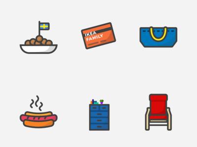 Ikea icon set