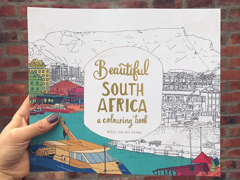 Beautiful South Africa a colouring book by Mieke Van der ...