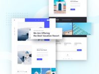 Resort Booking Landing Page