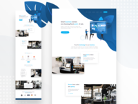 iPad Point Business Landing page