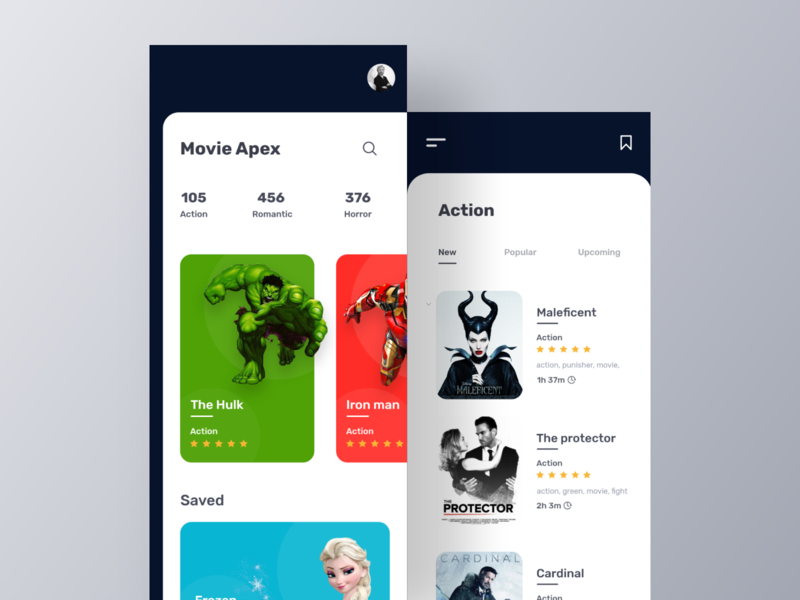 Movie App UI movie interface movie booking app inspiration dark ui ui design app ui app design app movie web movie ui movie app