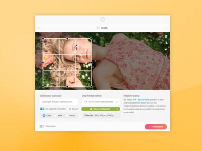 Smart Image Crop Tool for Document Builder
