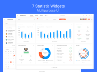 Statistic Widgets for Multifunctional Dashboard