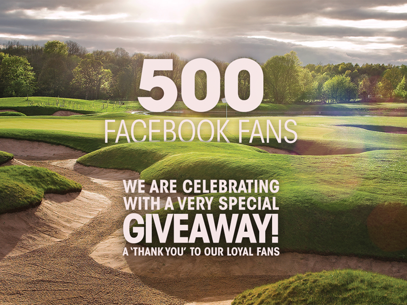 Intro for a Facebook Giveaway golf contest