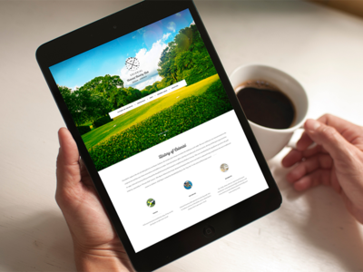 Golf Course & Country Club Website
