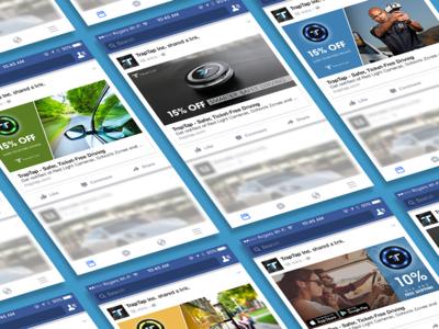 TrapTap - Facebook Ad Design