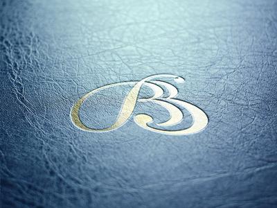 Calligraphy logo, BB. vector design print typography lettering vintage mark branding logo calligraphy