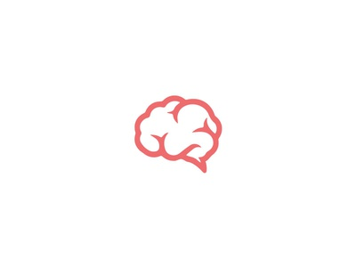 Unused logo concept graphic line mindful brain mind illustration icon ui design logo