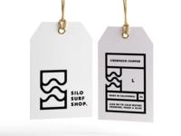 Silo Surf Shop brand & label.