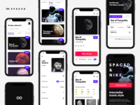 SPACED app concept.