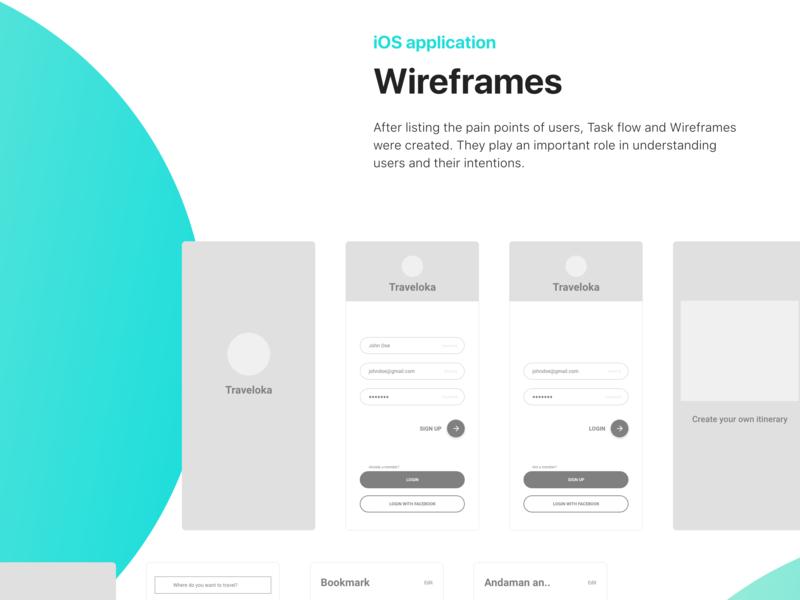 Traveloka - Travel world | Wireframes ios app ios ui  ux design app design traveloka travel app ux  ui ui