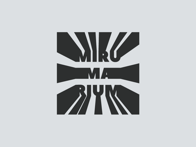 Mirumarium art gallery (2) perspective museum logotype logo gallery art