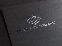 Cocktail Square ® - Logotype