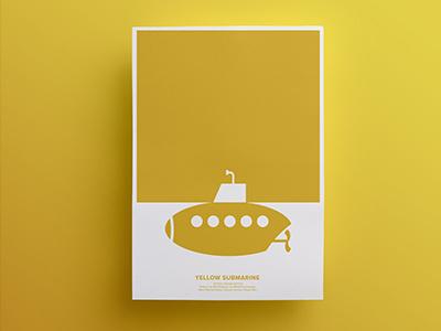 Yellow Submarine - Rebus Movie Poster affiche poster movie rebus