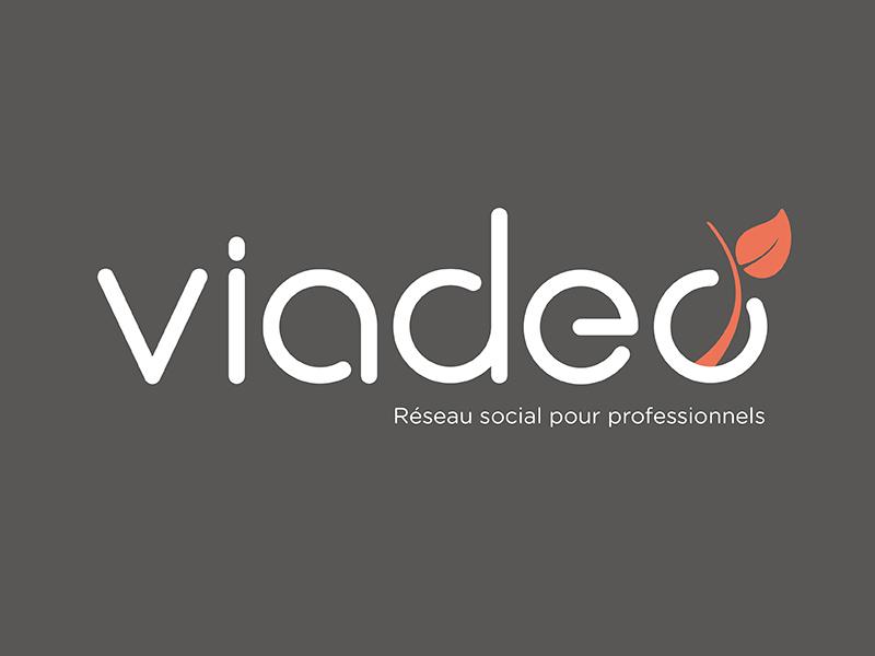 Lifting Logo Viadeo lifting logo viadeo