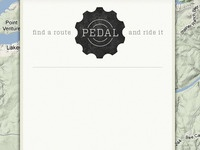 Pedal in use