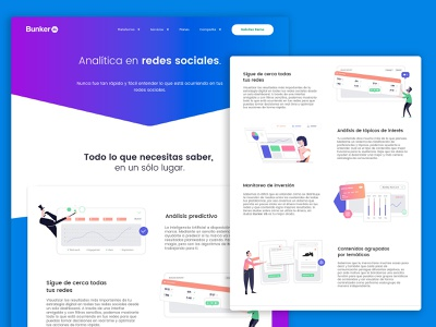 BunkerDB illustrations & web styling minimal icon website ui flat design ux app desiginspiration illustration