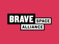 Brave Space Alliance logo design
