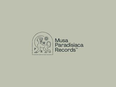 Record Label Brand logotype logo brand branding record label music