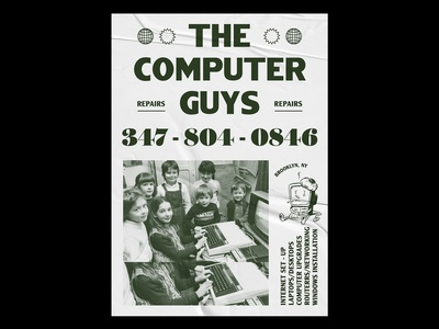 The Computer Guys Poster