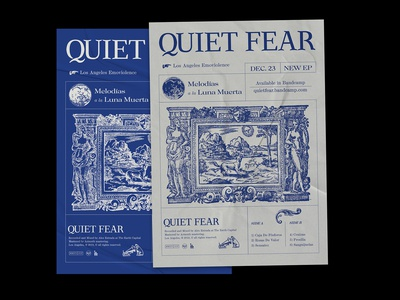 Promotional Posters Quiet Fear EP