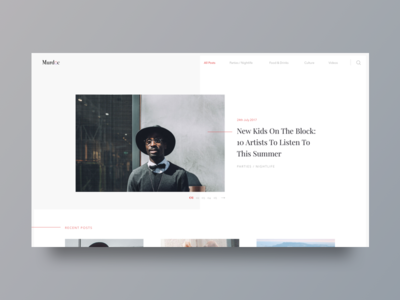 Blog UI