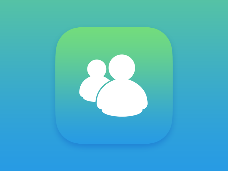 Apple Live Messenger by Masrat A    Dribbble   Dribbble