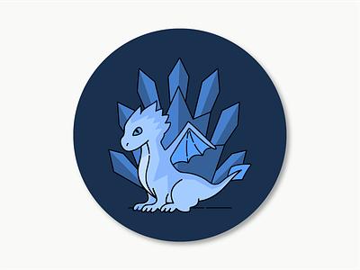 Dragon Sticker icon gameofthrones dragon sticker illustration