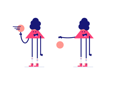 Ballin' out 🏀 vector minimal logo afro illustration icon basketball flat design clean character branding