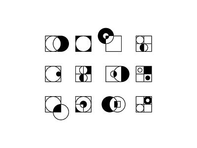 Stroke & Fill vector monochromatic minimal logo illustration icon flat design clean character branding ambient