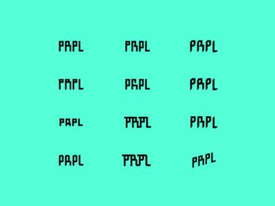 Word. vector summer typography minimal logo illustration icon flat design clean type branding