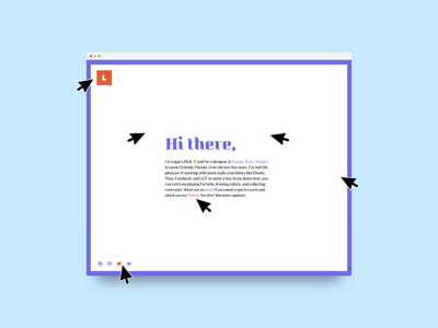 Renovated Portfolio minimal website web vector ux ui typography flat design clean branding portfolio