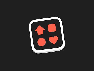 Glyphfinder Icon app dock logo icon macos