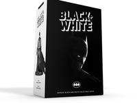 Batman Black and White rebrand