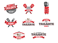 Wolv Tailgate Logos