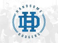 Handsome Dodgers Logo