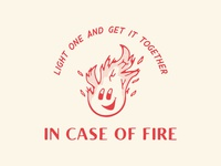 In Case Of Fire Logo