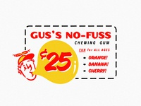 Gus's No-Fuss Chewing Gum