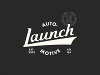 Launch Automotive Logo Concept