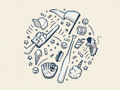 Baseball Illustrations