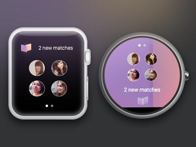 Dateam / Apple Watch & Moto360