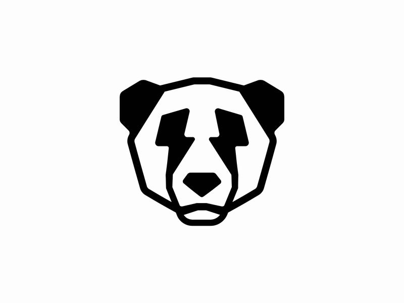 United Pandaz ϟ logomarks logo patrykbelc blcstudio belcdesign identity branding logodesign panda