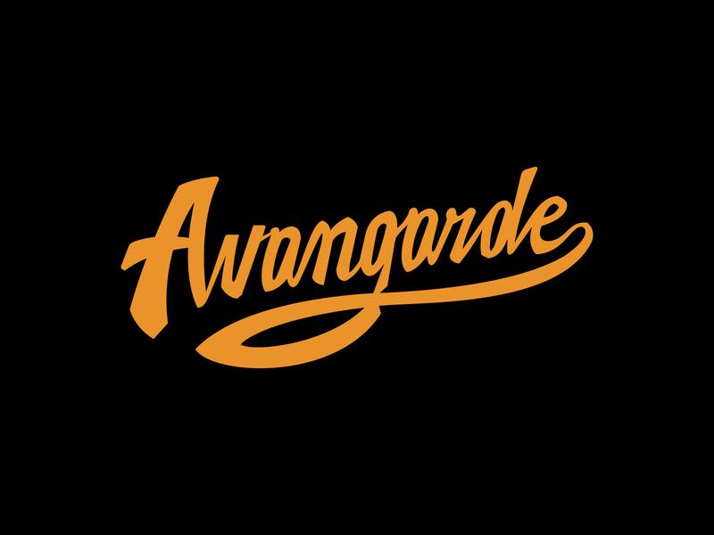 Avangarde ✑ blcstudio patrykbelc belcdesign lettering custom type typography typo