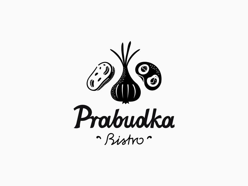Prabudka Bistro ✽ patrykbelc blcstudio belcdesign restaurant identity branding logodesign logo bistro prabudka